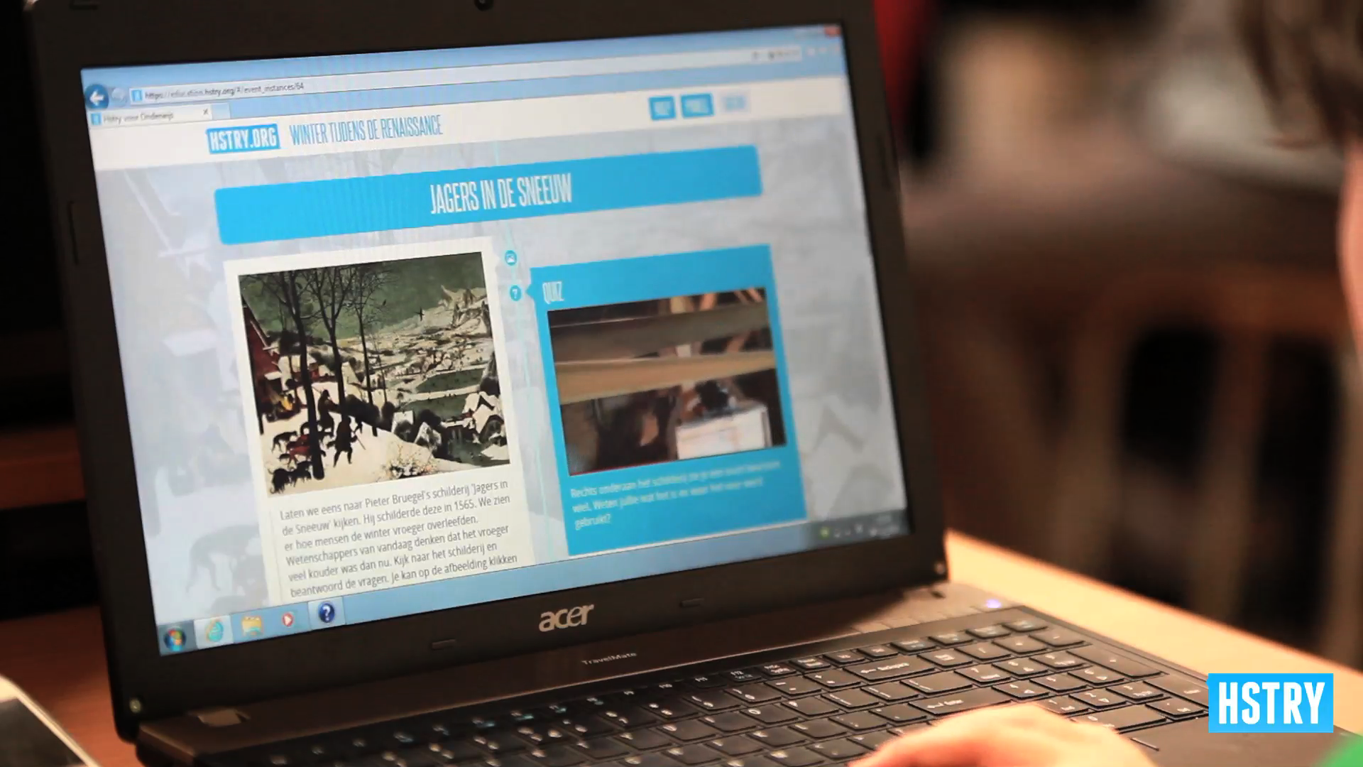 An HTML5 web application is also accessible on laptops.